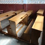 New desks for the Christian School!
