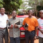 Hammer and the trained leaders who go to the villages to disciple others for Church Planting