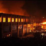Lome Grand Marche burns